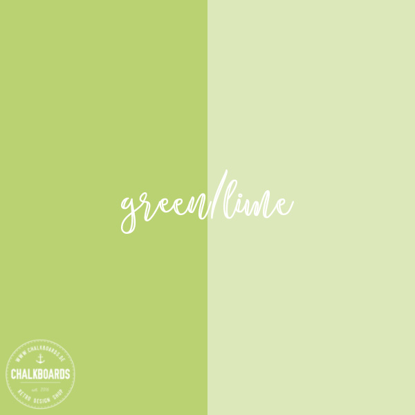 Baby-Chalkboard Farbe: green/lime