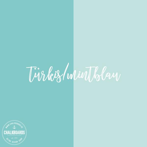 Baby-Chalkboard Farbe: türkis/mintblau