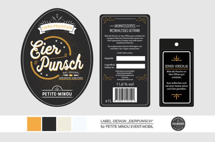 Labeldesign Flaschenetiketten