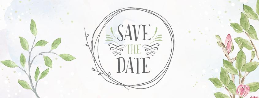 Hochzeit Save the Date