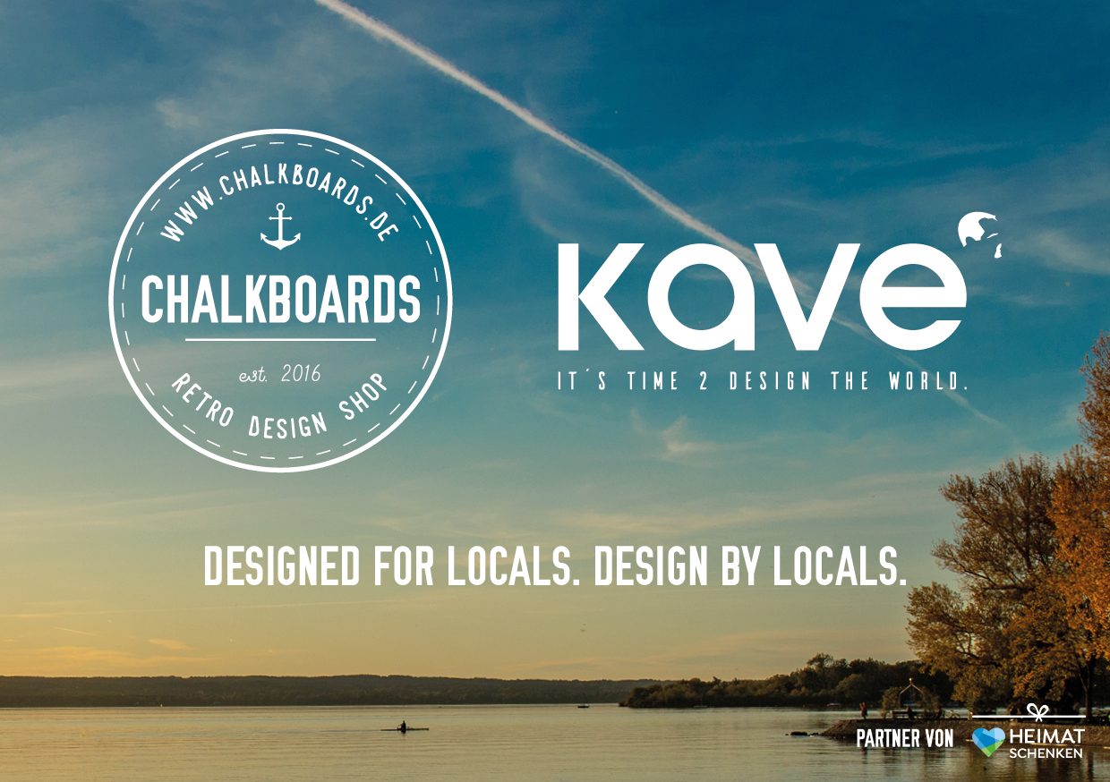 CHALKBOARDS.DE - KAVE // Design by Locals. Designed from Locals.